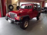 2006 Flame Red Jeep Wrangler Unlimited 4x4 #72346921