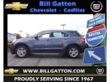 2013 Atlantis Blue Metallic Chevrolet Equinox LS #72347219
