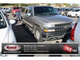 2002 Light Pewter Metallic Chevrolet Silverado 1500 Extended Cab 4x4 #72346510