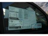 2013 Toyota Tundra TRD Rock Warrior Double Cab 4x4 Window Sticker