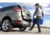 2013 White Platinum Metallic Tri-Coat Ford Escape Titanium 2.0L EcoBoost 4WD #72346833