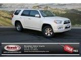 2013 Blizzard White Pearl Toyota 4Runner SR5 4x4 #72346495
