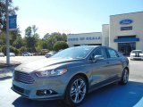 2013 Sterling Gray Metallic Ford Fusion Titanium #72346681