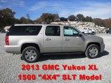 2013 Champagne Silver Metallic GMC Yukon XL SLT 4x4 #72347198