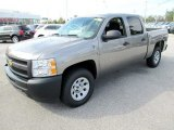 2012 Chevrolet Silverado 1500 Work Truck Crew Cab 4x4 Data, Info and Specs