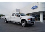 2010 Oxford White Ford F350 Super Duty Lariat Crew Cab 4x4 Dually #72346801