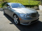 2013 Palladium Silver Metallic Mercedes-Benz S 550 Sedan #72346568