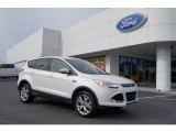 2013 White Platinum Metallic Tri-Coat Ford Escape SEL 2.0L EcoBoost 4WD #72346798