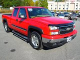 2006 Victory Red Chevrolet Silverado 1500 LT Extended Cab 4x4 #72347107