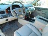2013 Chevrolet Silverado 1500 LTZ Extended Cab 4x4 Light Titanium/Dark Titanium Interior
