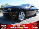2013 Pitch Black Dodge Challenger SXT #72346779
