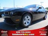 2013 Pitch Black Dodge Challenger SXT #72346778