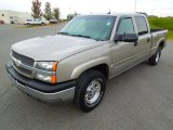 2003 Light Pewter Metallic Chevrolet Silverado 1500 LT Crew Cab 4x4 #72398231
