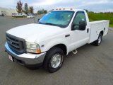 2002 Ford F350 Super Duty XL Regular Cab Chassis Utility Data, Info and Specs