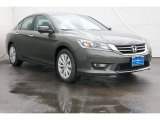 2013 Hematite Metallic Honda Accord EX-L Sedan #72397831