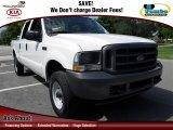 2003 Oxford White Ford F250 Super Duty XL Crew Cab 4x4 #72398348