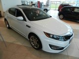 2013 Snow White Pearl Kia Optima SX Limited #72398218