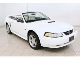 2000 Crystal White Ford Mustang GT Convertible #72398211
