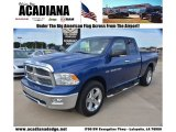 2011 Deep Water Blue Pearl Dodge Ram 1500 Big Horn Quad Cab #72397822