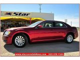 2012 Deep Cherry Red Crystal Pearl Chrysler 300  #72398081