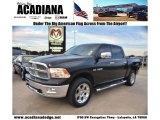 2009 Brilliant Black Crystal Pearl Dodge Ram 1500 Laramie Crew Cab 4x4 #72397819