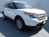 2013 White Platinum Tri-Coat Ford Explorer XLT EcoBoost #72397947