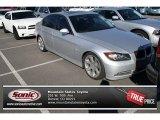 2008 Titanium Silver Metallic BMW 3 Series 335xi Sedan #72397536