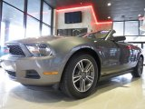 2011 Sterling Gray Metallic Ford Mustang V6 Premium Convertible #72398310
