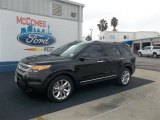 2013 Tuxedo Black Metallic Ford Explorer XLT #72397670