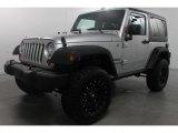 2012 Bright Silver Metallic Jeep Wrangler Sport 4x4 #72397486
