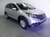 2013 Alabaster Silver Metallic Honda CR-V EX-L AWD #72398162