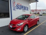 2013 Volcanic Red Hyundai Elantra Coupe GS #72397656