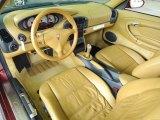 1999 Porsche 911 Carrera Coupe Savanna Beige Interior