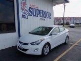 2013 Shimmering White Hyundai Elantra GLS #72397647