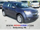 2013 Atlantis Blue Metallic Chevrolet Equinox LS AWD #72398147