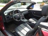 2000 Mercedes-Benz SLK 230 Kompressor Roadster Charcoal Interior