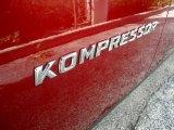 2000 Mercedes-Benz SLK 230 Kompressor Roadster Marks and Logos