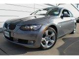 2009 Space Grey Metallic BMW 3 Series 328xi Coupe #72397620
