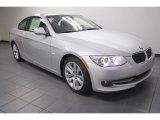 2013 Titanium Silver Metallic BMW 3 Series 328i Coupe #72398119