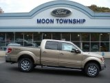 2013 Pale Adobe Metallic Ford F150 Lariat SuperCrew 4x4 #72397884