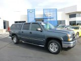 2007 Blue Granite Metallic Chevrolet Silverado 1500 Classic LT  Z71 Crew Cab 4x4 #72397876