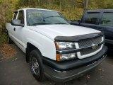 2004 Summit White Chevrolet Silverado 1500 LS Extended Cab 4x4 #72397867