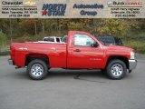2013 Victory Red Chevrolet Silverado 1500 LS Regular Cab 4x4 #72397865