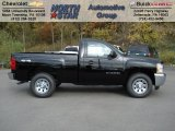 2013 Black Chevrolet Silverado 1500 LS Regular Cab 4x4 #72397864