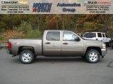 2013 Mocha Steel Metallic Chevrolet Silverado 1500 LT Crew Cab 4x4 #72397860