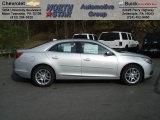 2013 Silver Ice Metallic Chevrolet Malibu LT #72397857