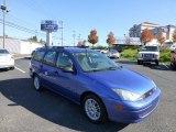 2003 French Blue Metallic Ford Focus SE Wagon #72469980