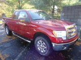2013 Ruby Red Metallic Ford F150 XLT SuperCab 4x4 #72469978
