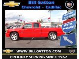 2004 Victory Red Chevrolet Silverado 1500 SS Extended Cab AWD #72470386