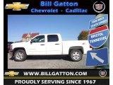 2013 Summit White Chevrolet Silverado 1500 LT Crew Cab 4x4 #72470383